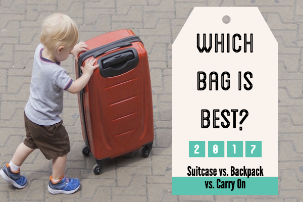 Which case should I take on holiday? Suitcase, backpack or small carry on?