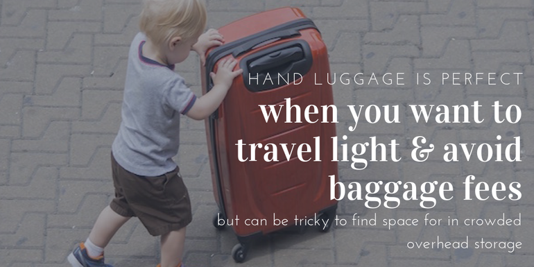 pros and cons to hand luggage