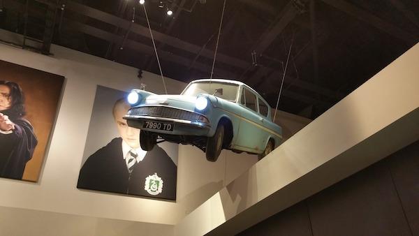 Harry Potter exhibit in the British Museum
