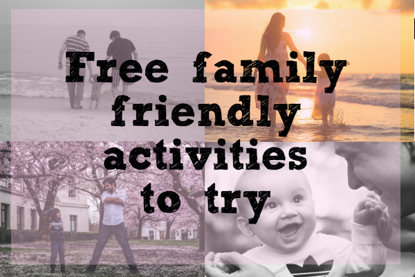 free things to do this year with the family!