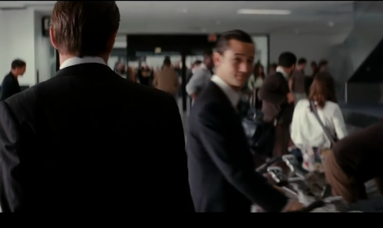 Are you dreaming? Or have you seen this movie airport scene before?