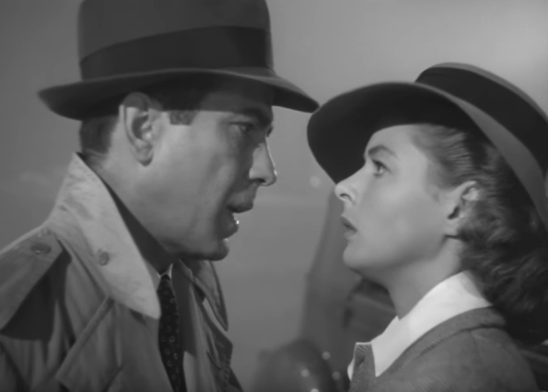 This 1940s epic has got to be one of the most iconic movie scenes in an airport