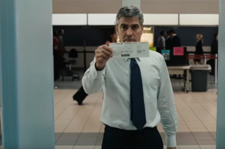 George Clooney just loves to travel in this airport movie!