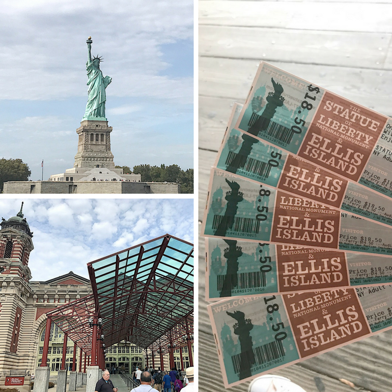 72 hours in New York - Statue of Liberty and Ellis Island