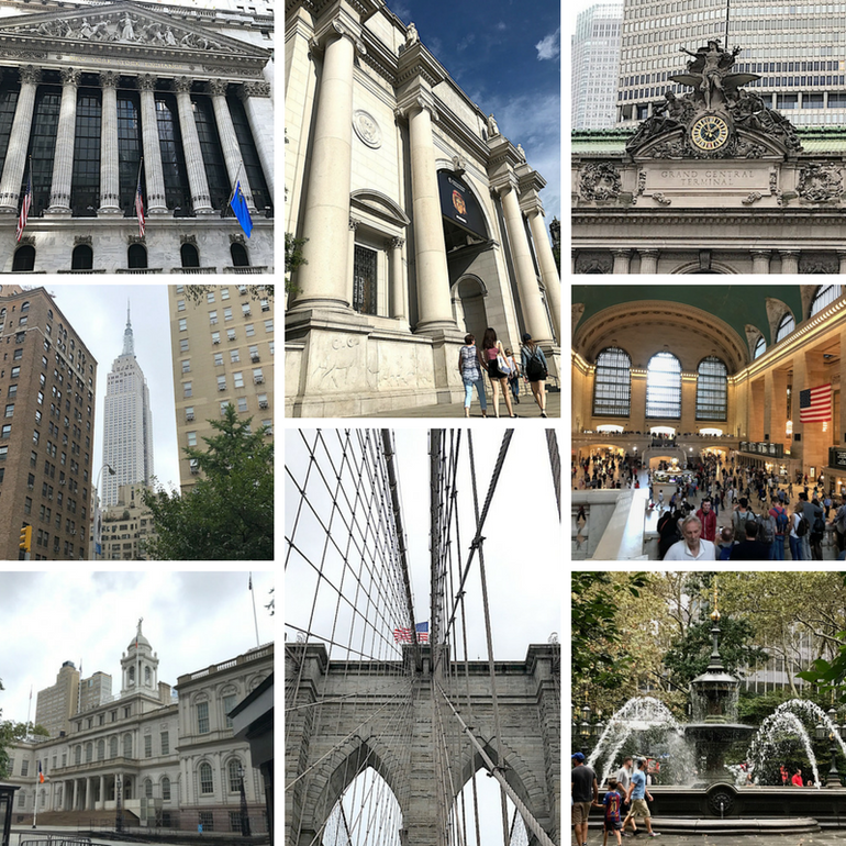 72 hours in New York - Brooklyn Bridge, NYSE, City Hall, Grand Central Station