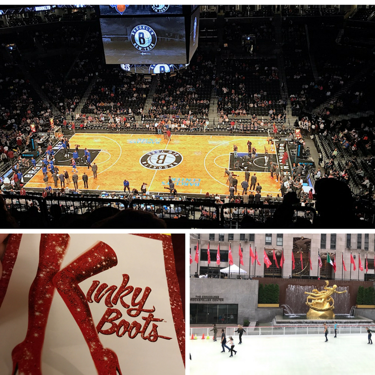 72 hours in New York - Basketball, Broadway and Rockerfeller Centre