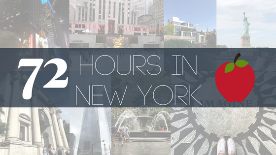 72 hours in New York