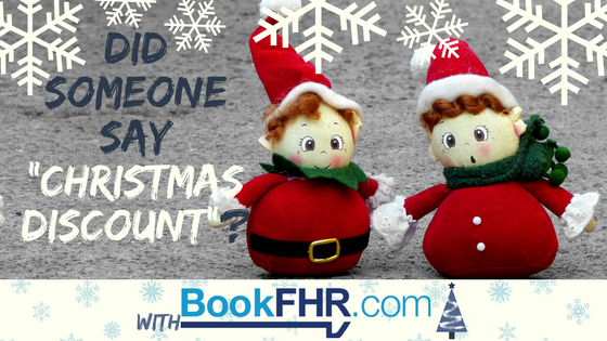Get your Christmas Discount with FHR
