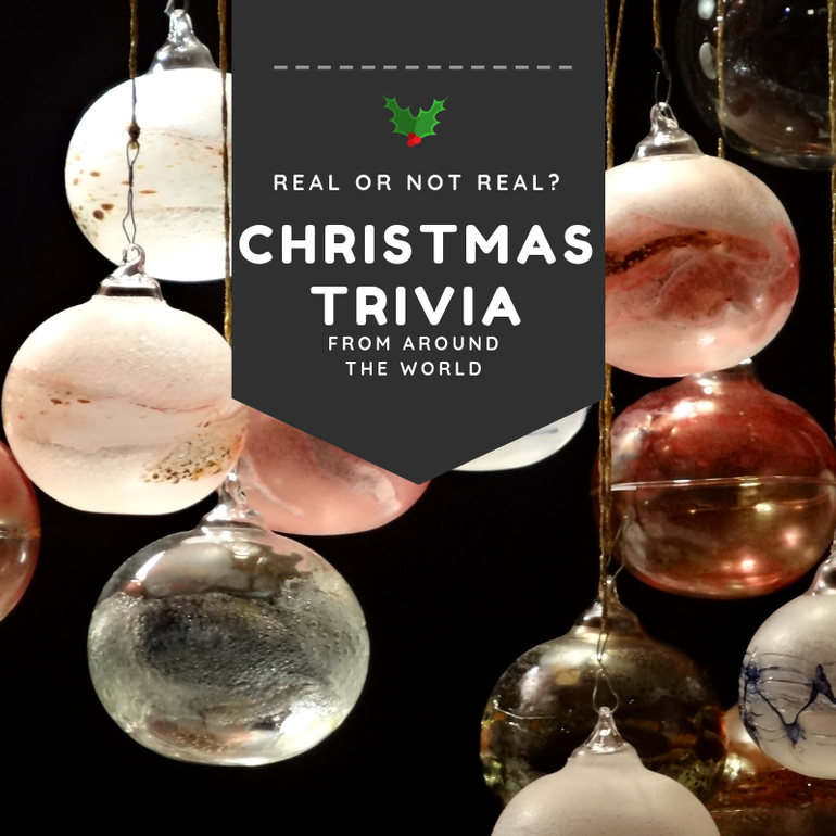 Take our Christmas Trivia Quiz