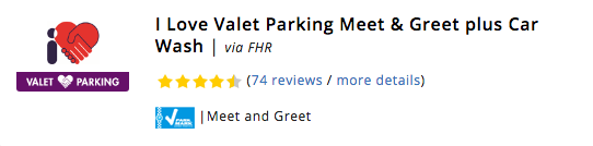 Stansted I Love Valet Parking Meet & Greet plus Car Wash