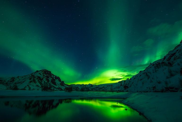 ooh, you could spend Christmas in Iceland!