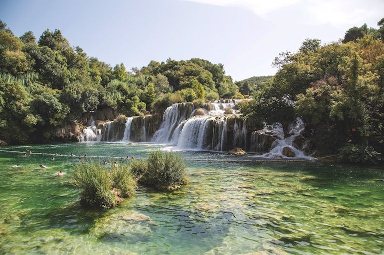 A trip to any of the beautiful Croatian national parks is on Alice's travel bucket list