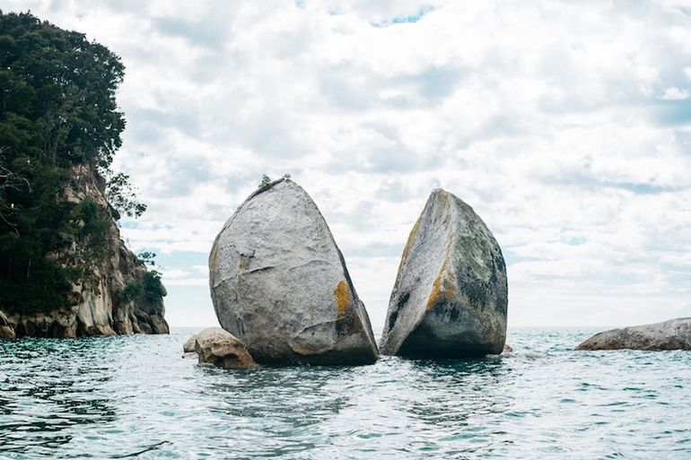 New Zealand is on Lauren's travel bucket list as she is highly intrigued by the Split Apple Rock on the northern coast of the country