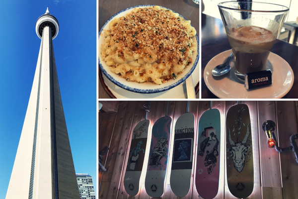 If you have time after the other 7 must visit spots, check out the CN Tower, SOCO, Aroma and El Furniture Warehouse