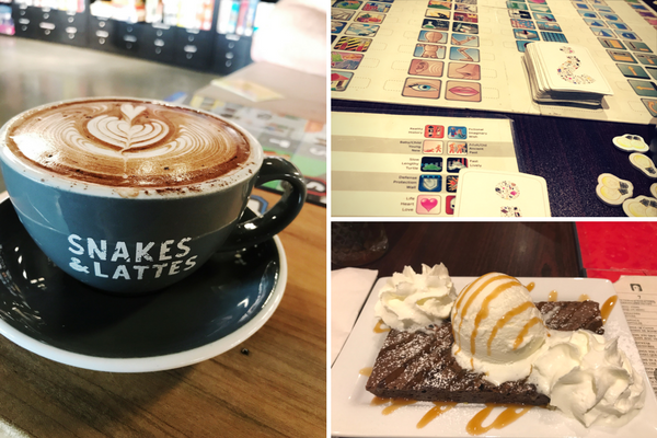 Snakes and Lattes is a great place for date night! Making it one of the 7 must visit spots in Toronto