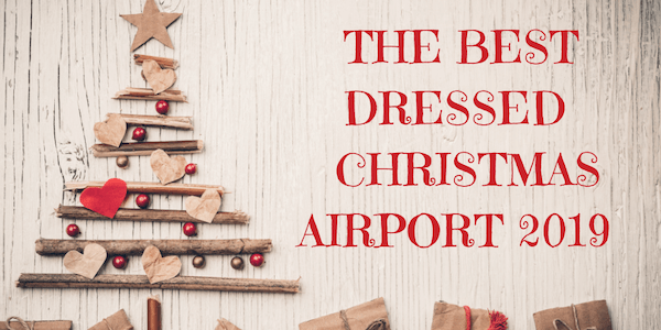 The Best dressed christmas airport 2019 (1)