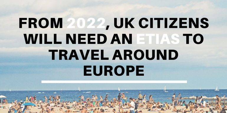 Brits will need to apply and pay for an ETIAS to travel to other EU countries post-Brexit
