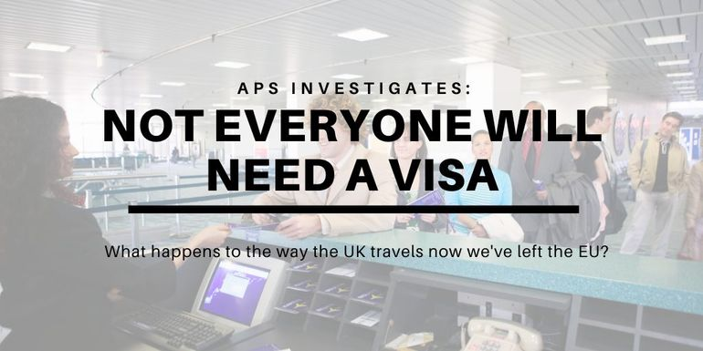 Some travellers will require visas if they want to work or study abroad after Brexit