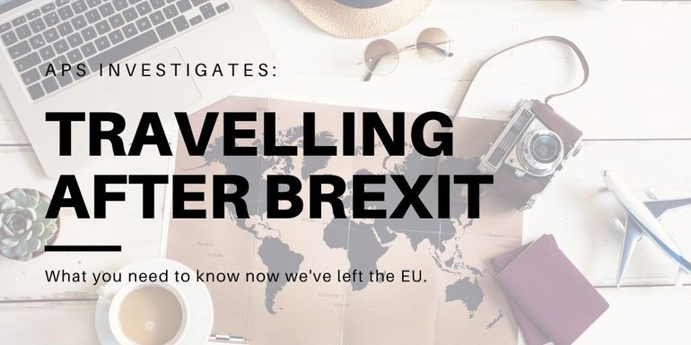 Travelling after Brexit-What it means for the UK