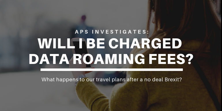 Will I need to pay data roaming charges in Europe after Brexit?