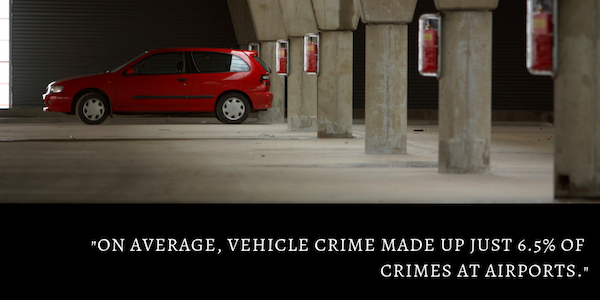 Vehicle crime at UK airports