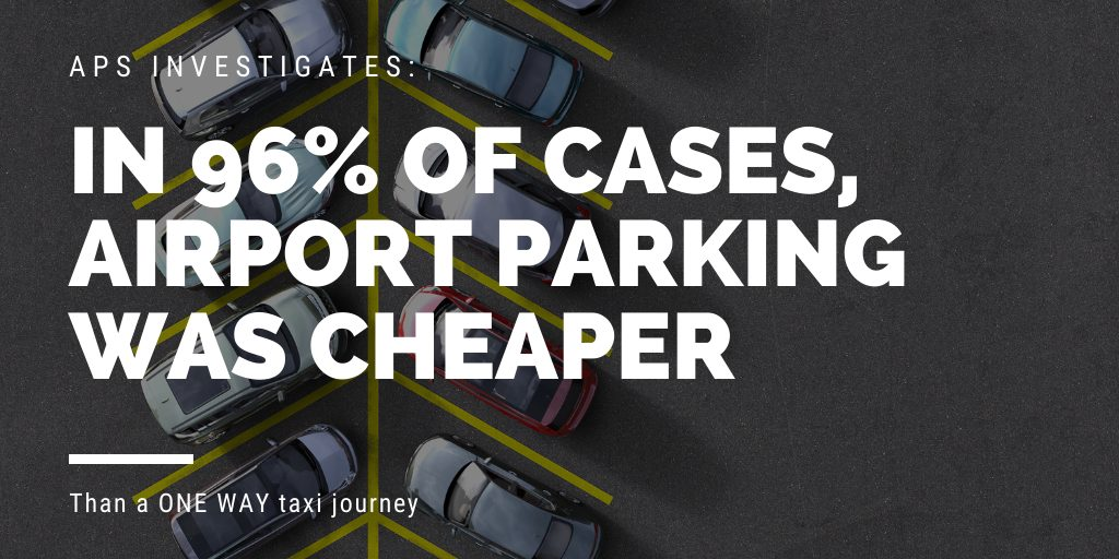 Airport parking vs Taxis