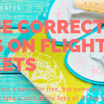 Correcting my name on a flight ticket: How much is a name correction?