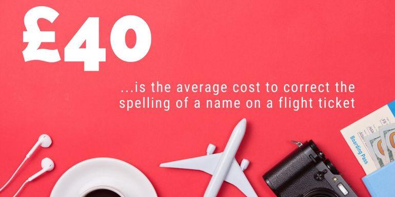 Name Correction fees