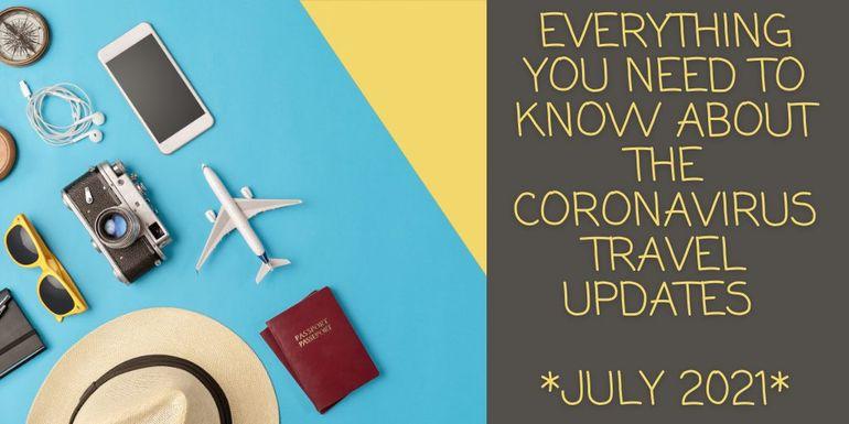Coronavirus Travel Corridors