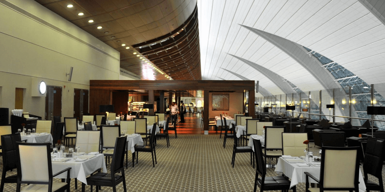 Best airport lounges - Emirates First-Class Lounge