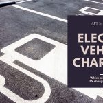 Which airports have electric vehicle charging stations?