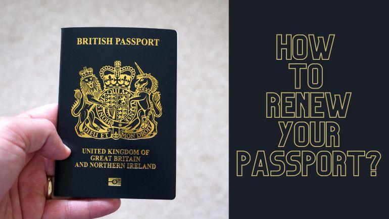 how to renew passport?